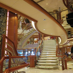 Staircase in Main Lobby