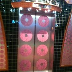 Lots of pink polka dots!, Carnival Splendor