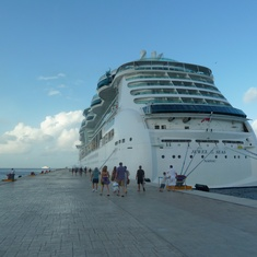 Jewel of the Seas in Cozumel