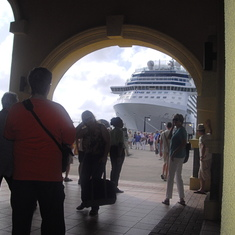 Arriving at St. Martin