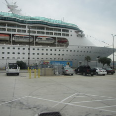 our ship at port Canaveral