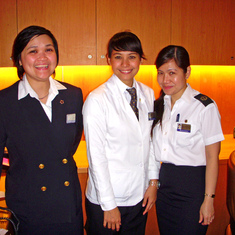 Concierge, Server and Staff of the Suite's Neptune Lounge.  Just great people!