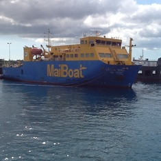Mail boat
