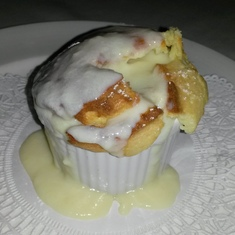 Delicious soufflé aboard Ruby Princess