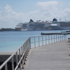 Nassau, Bahamas - Nassau parking lot