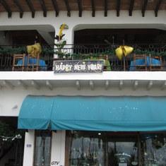 Puerto Vallarta, Mexico - oceano Bar New Years Day