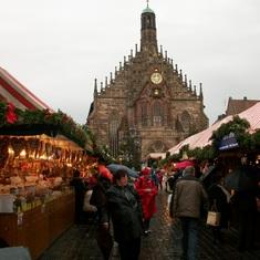 Nuremberg, Germany - Nurnberg Christmas market