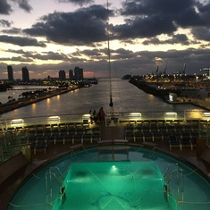 Miami, Florida - Arrival at Port of Miami