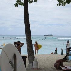 Honolulu, Oahu - Waikiki Beach