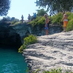 cliffs in Bermuda