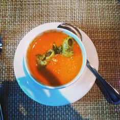 Roasted Tomato Soup at Taste