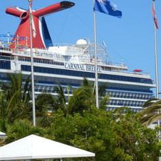 cruise on Carnival Breeze to Caribbean - Southern