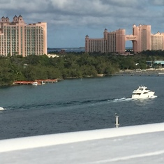 Arriving in Nassau