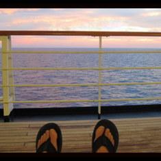 Puerto Vallarta, Mexico - On board the Zaandam