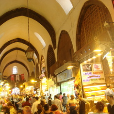 the grand bazaar in Istambul is a must but avoid eye-contact with vendors