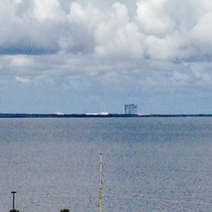 KSC space shuttle launch pad