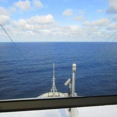 Westerdam at sea