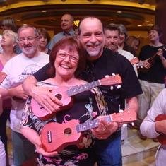 After the ukulele concert