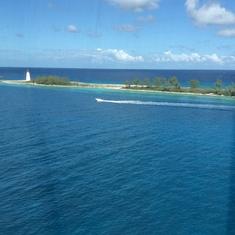 Cruising into the Bahamas aboard the GEM