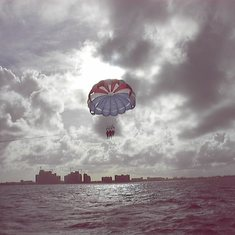Parasailing Is A Blast!