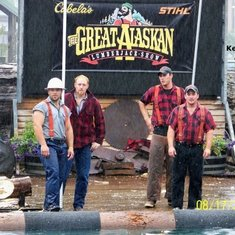Lumberjack Show in Ketchikan